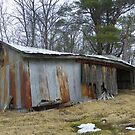 Neglected and Abandoned2- Lopsided Building by MaryinMaine