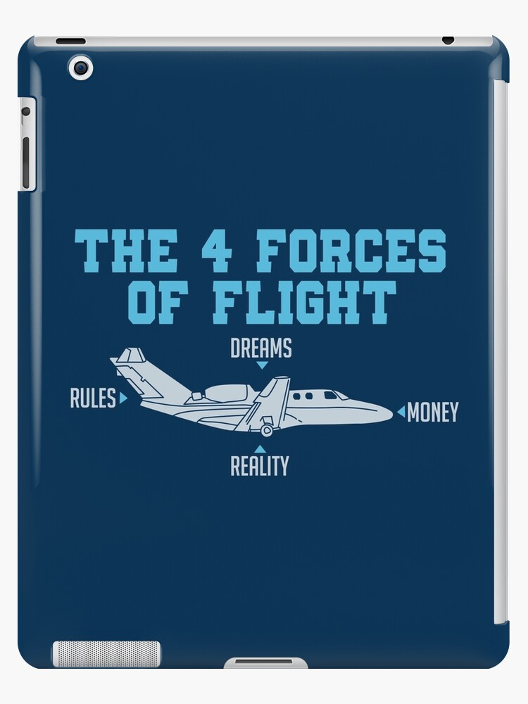 eaacbb78 The 4 Forces Of Flight - Funny Aviation Quotes Gift