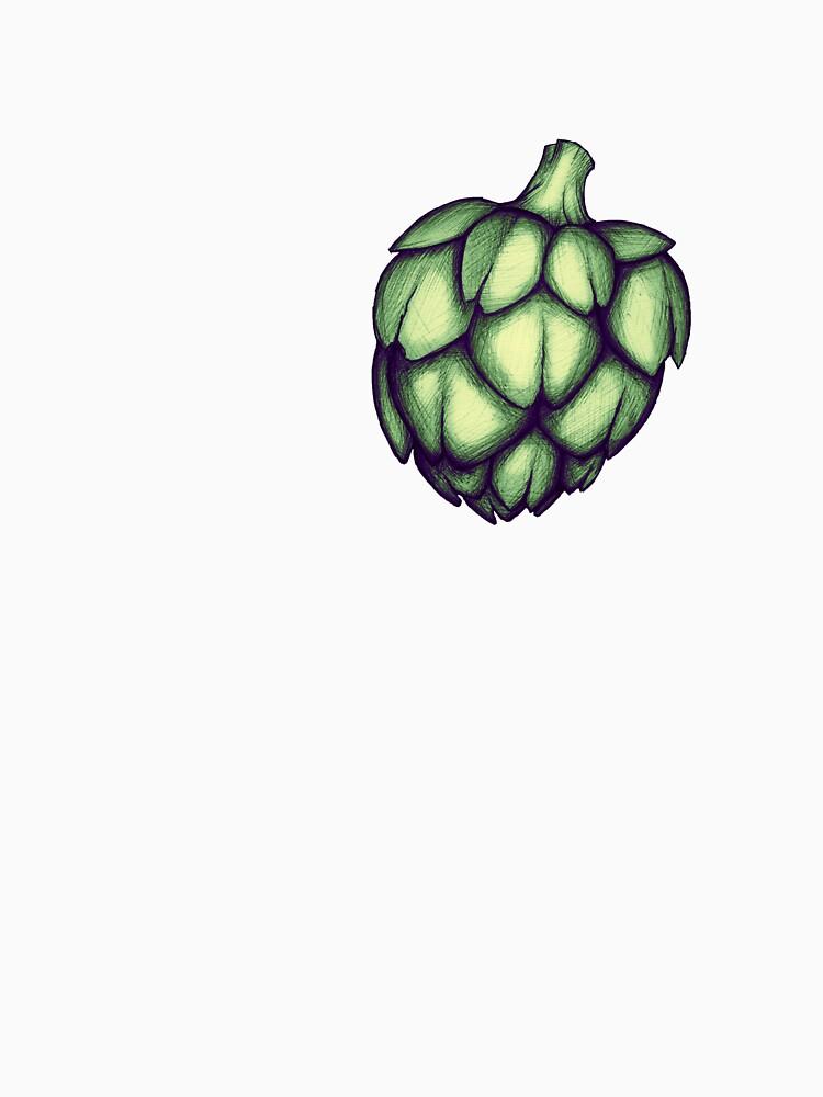 «Cœur d'artichaut» par koda-redbubble