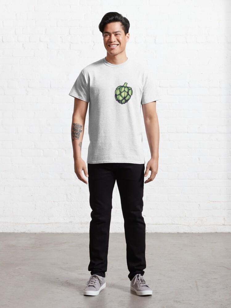 T-shirt classique ''Cœur d'artichaut': autre vue
