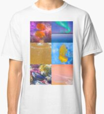 Sealife And Seashore Collage HDR Vertical 3 Classic T-Shirt