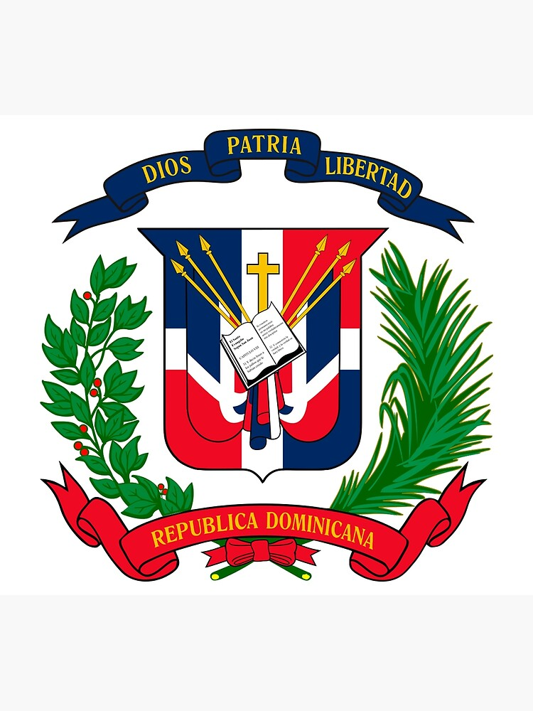 Coat of arms Dominican Republic by MichaelRellov