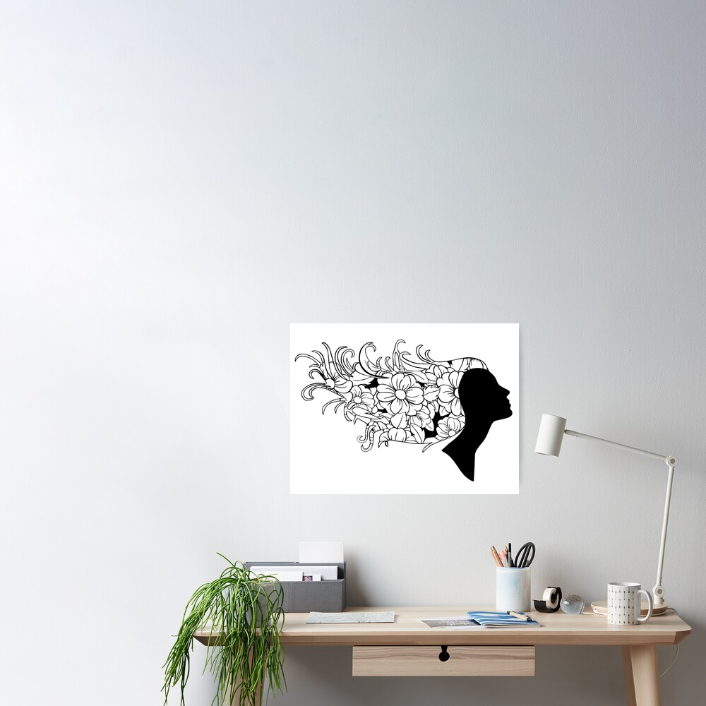 Just Add Colour - Natural Beauty Poster