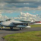 De Havilland Vampire FB.6 LN-DHY by Colin Smedley