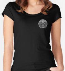 BESTDOGZ MAIN LOGO (NEGATIVE) Women's Fitted Scoop T-Shirt