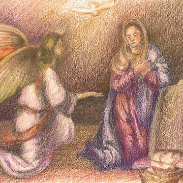 Mary and the Angel. by terezadelpilar