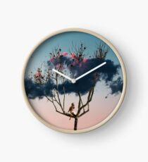 cloud tree Clock