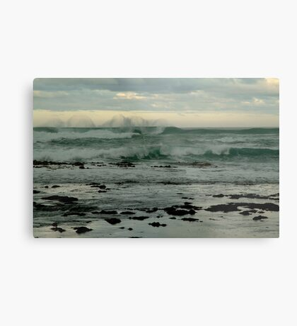 Wispy Surf, Great Ocean Road Metal Print