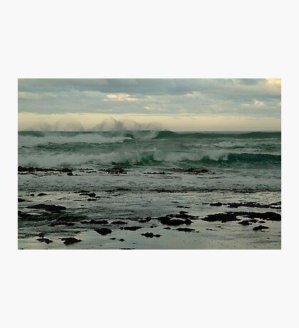 Wispy Surf, Great Ocean Road Photographic Print