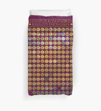 Roman Emperors 27 BCE - 1453 CE Duvet Cover