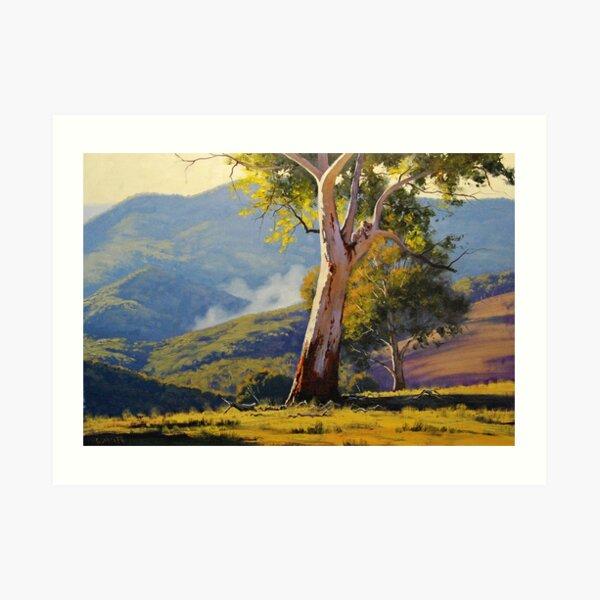 Sleeping Koala Turon Art Print
