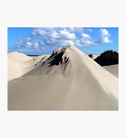 Pyramids of sand Photographic Print