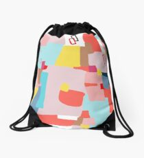 Windows of Possibility #abstractart #painting Drawstring Bag