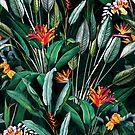 Midnight Garden V by Burcu Korkmazyurek