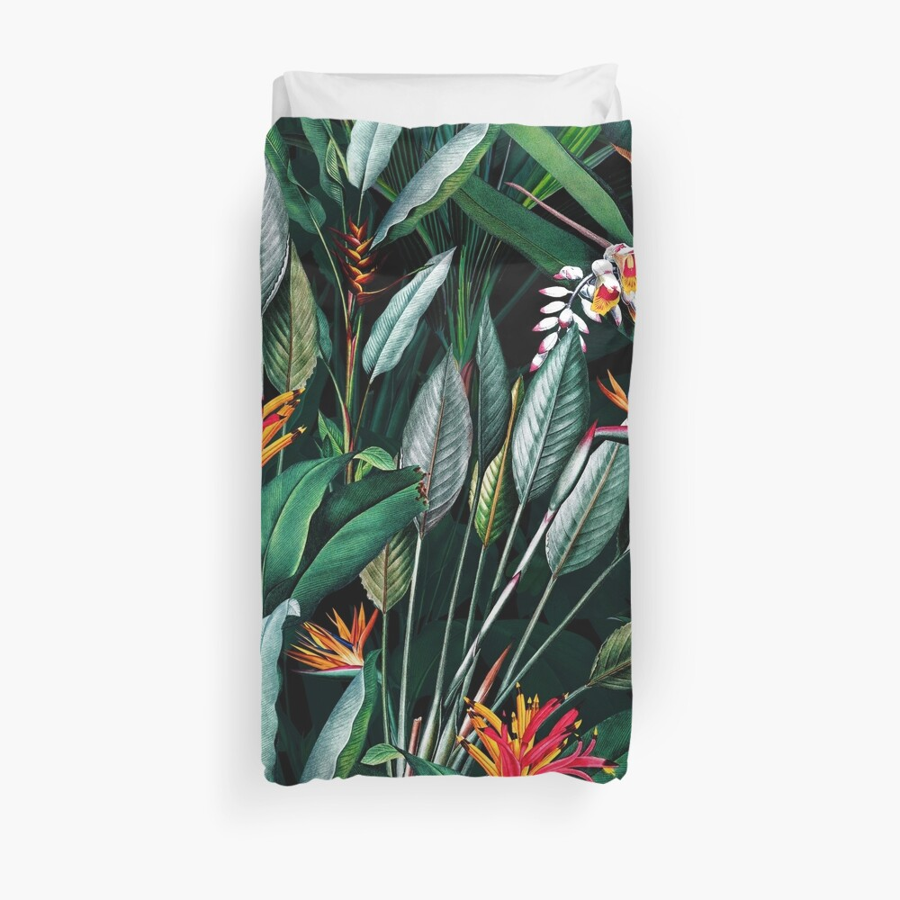 Midnight Garden V Duvet Cover