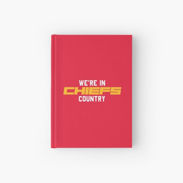 CHIEFS country Hardcover Journal