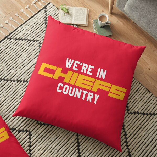CHIEFS country Floor Pillow
