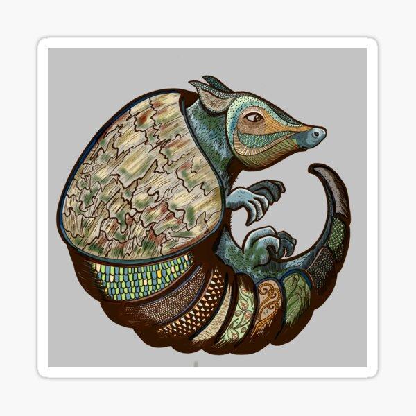 Exotic armadillo  Sticker
