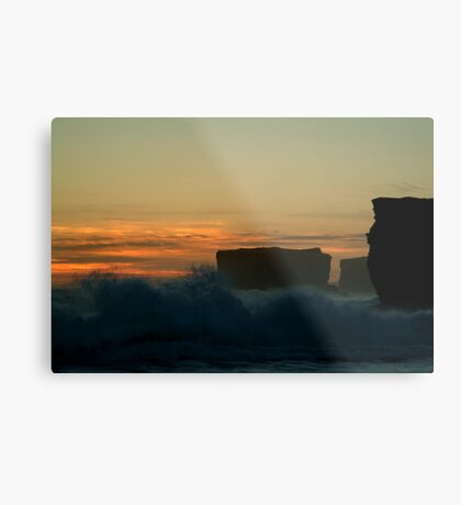 Wave Power,Sherbrooke Beach,Great Ocean Rd Metal Print