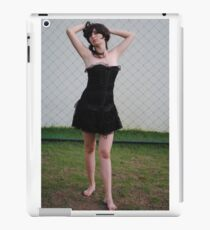 Black Corset 11 iPad Case/Skin