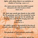 Bible Verses about Goodness by EuniceWilkie