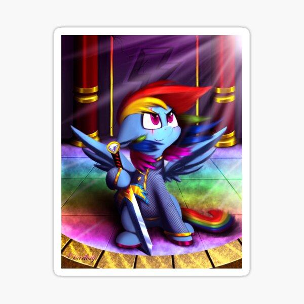 Guardian Loyalty (Rainbow Dash - My Little Pony) Sticker