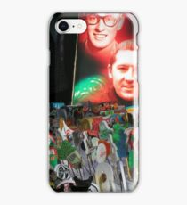 50s memorabilia display with Dutch pins iPhone Case/Skin