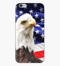 American Bald Eagle Flag iPhone Case