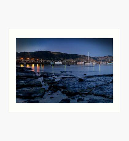 Twilight, Apollo Bay Harbour,Great Ocean Rd Art Print