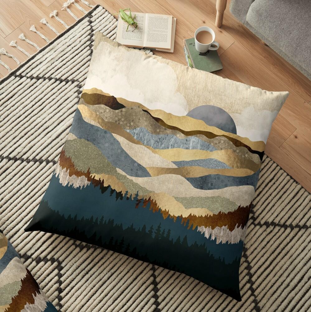 Golden Vista Floor Pillow
