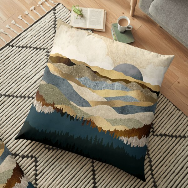 Golden Vista Floor Pillow