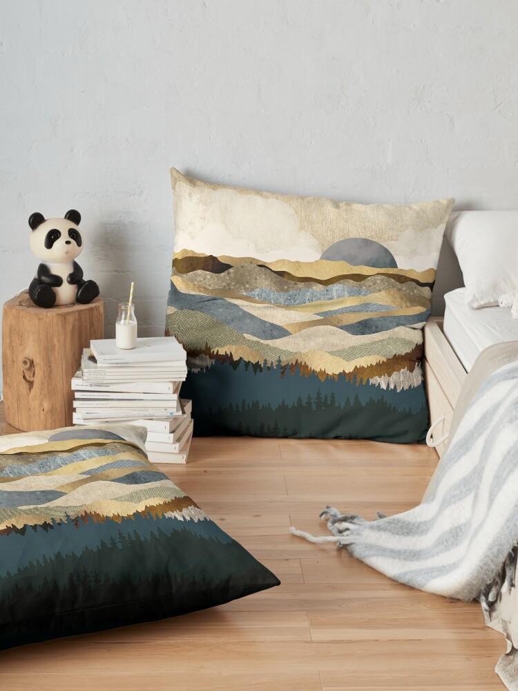 Alternate view of Golden Vista Floor Pillow