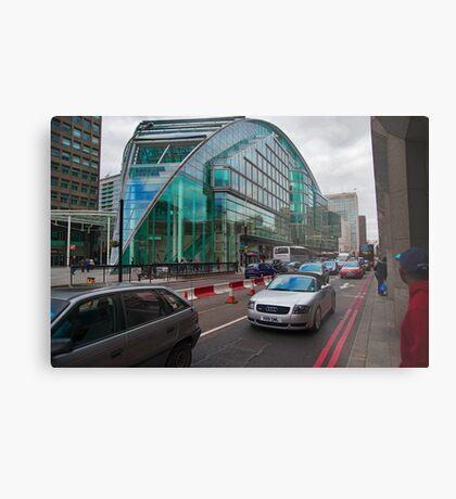 The Waspish Lloyds Bank Building London UK Metal Print