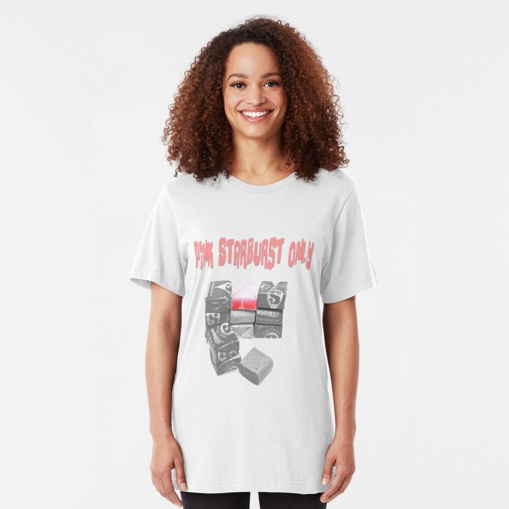 Pink Starburst Only Slim Fit T-Shirt