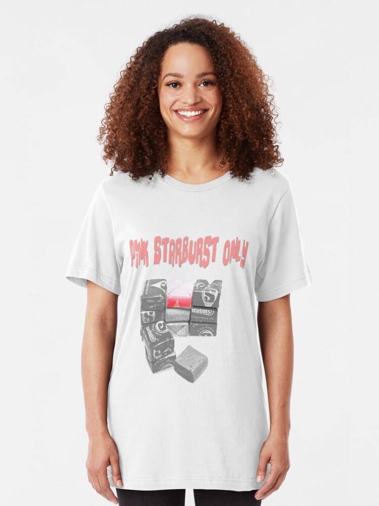 Alternate view of Pink Starburst Only Slim Fit T-Shirt