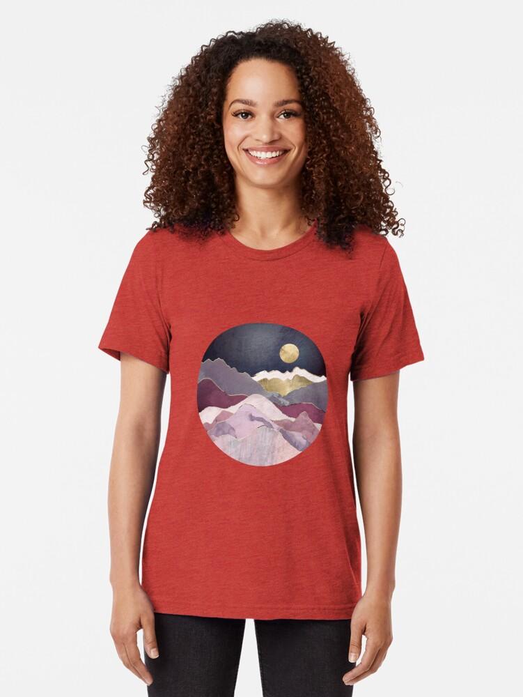 Vista alternativa de Camiseta de tejido mixto Sueño de frambuesa