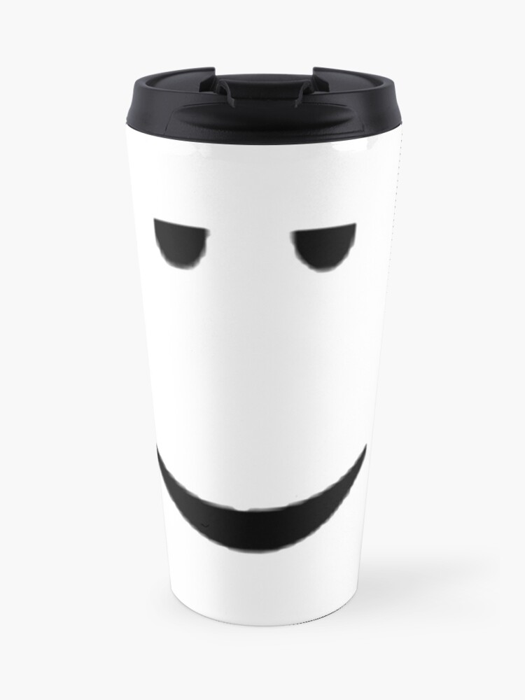 Roblox Mugs Redbubble Roblox Chill Face Travel Mug By Ivarkorr Redbubble