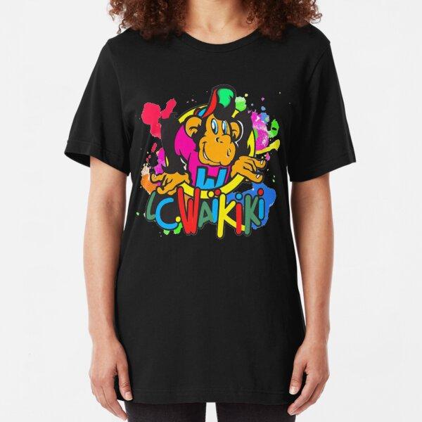 Colorful Waikiki Slim Fit T-Shirt