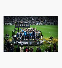 Melbourne Victory - Champions Photographic Print