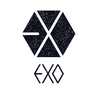 EXO Logo Galaxy by Hilaarya
