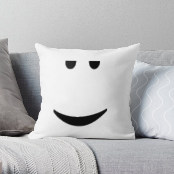 ROBLOX CHILL FACE Coussin