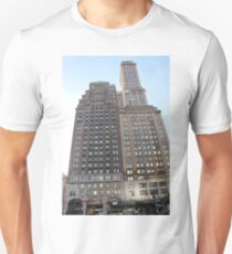 #famous #place, #international #landmark, #Apple Store, New York City, USA, american culture, architecture, city, skyscraper, office, modern, sky, business, cityscape, tower Unisex T-Shirt