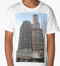 #famous #place, #international #landmark, #Apple Store, New York City, USA, american culture, architecture, city, skyscraper, office, modern, sky, business, cityscape, tower Long T-Shirt