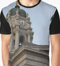 #famous #place, #international #landmark, Bunker Hill Monument, Dock Square, USA, #american culture, statue, dome, spire, architecture Graphic T-Shirt