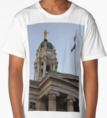 #famous #place, #international #landmark, Bunker Hill Monument, Dock Square, USA, #american culture, statue, dome, spire, architecture Long T-Shirt