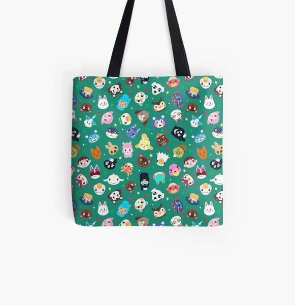 Happy Town All Over Print Tote Bag