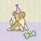 Birthday Pup by Katie Corrigan