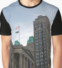 #architecture, #city, outdoors, office, #sky, #skyscraper, business, finance, #tower Graphic T-Shirt