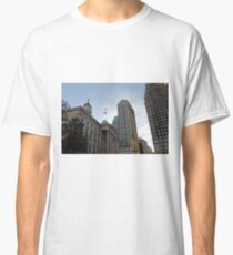 #architecture, #city, outdoors, office, #sky, #skyscraper, business, finance, #tower Classic T-Shirt