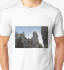 #architecture, #city, outdoors, office, #sky, #skyscraper, business, finance, #tower Unisex T-Shirt